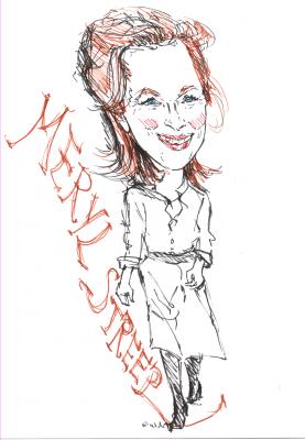 Bild karikatur-meryl-streep-png