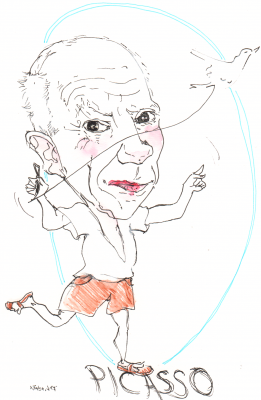 Bild karikatur-picasso-png