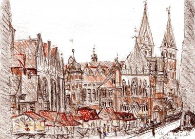 Bild bremen-zeichnung-markt-hafen-104-jpg